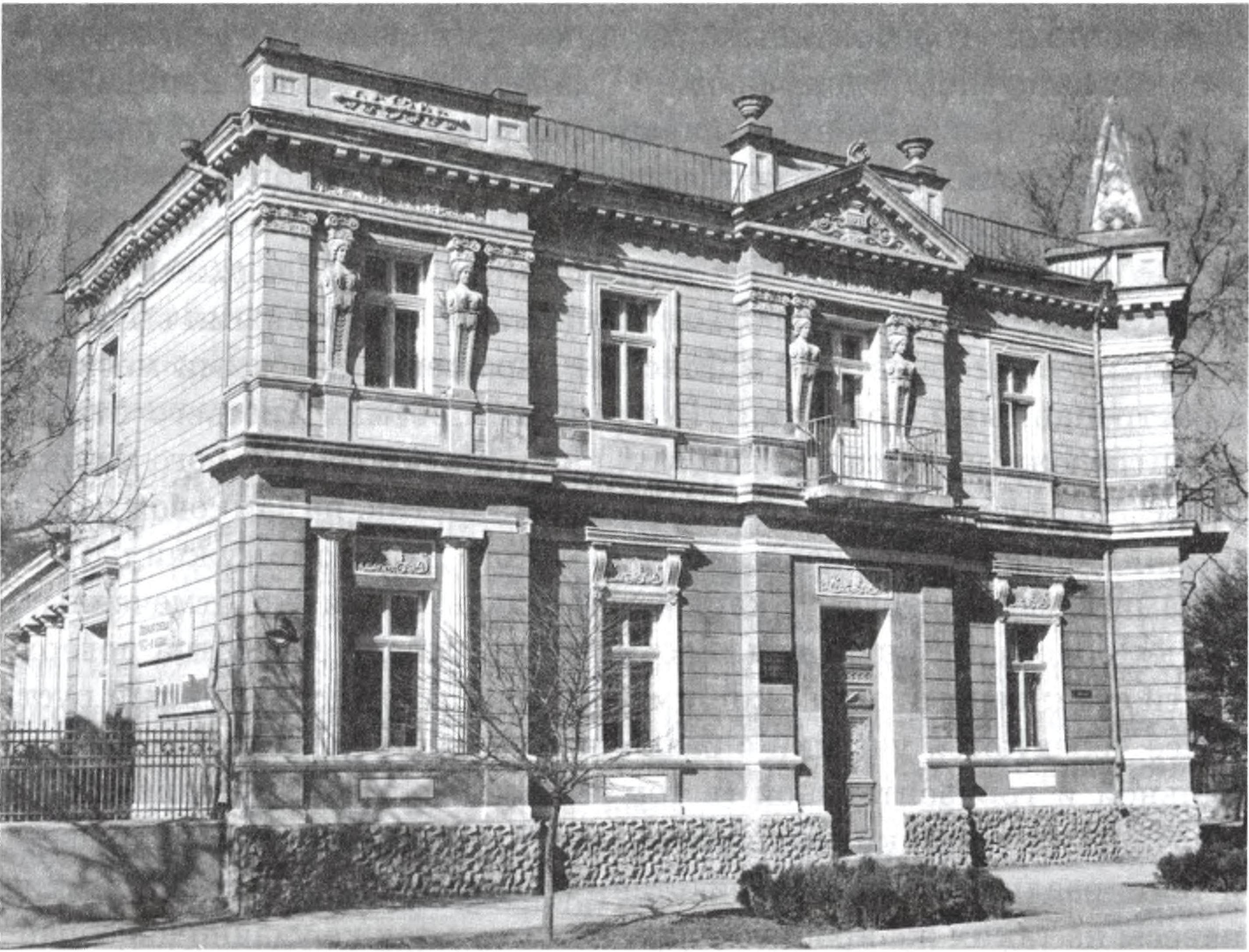 Вилла «Сфинкс». Архитектор П.Я. Сеферов. 1911 г.