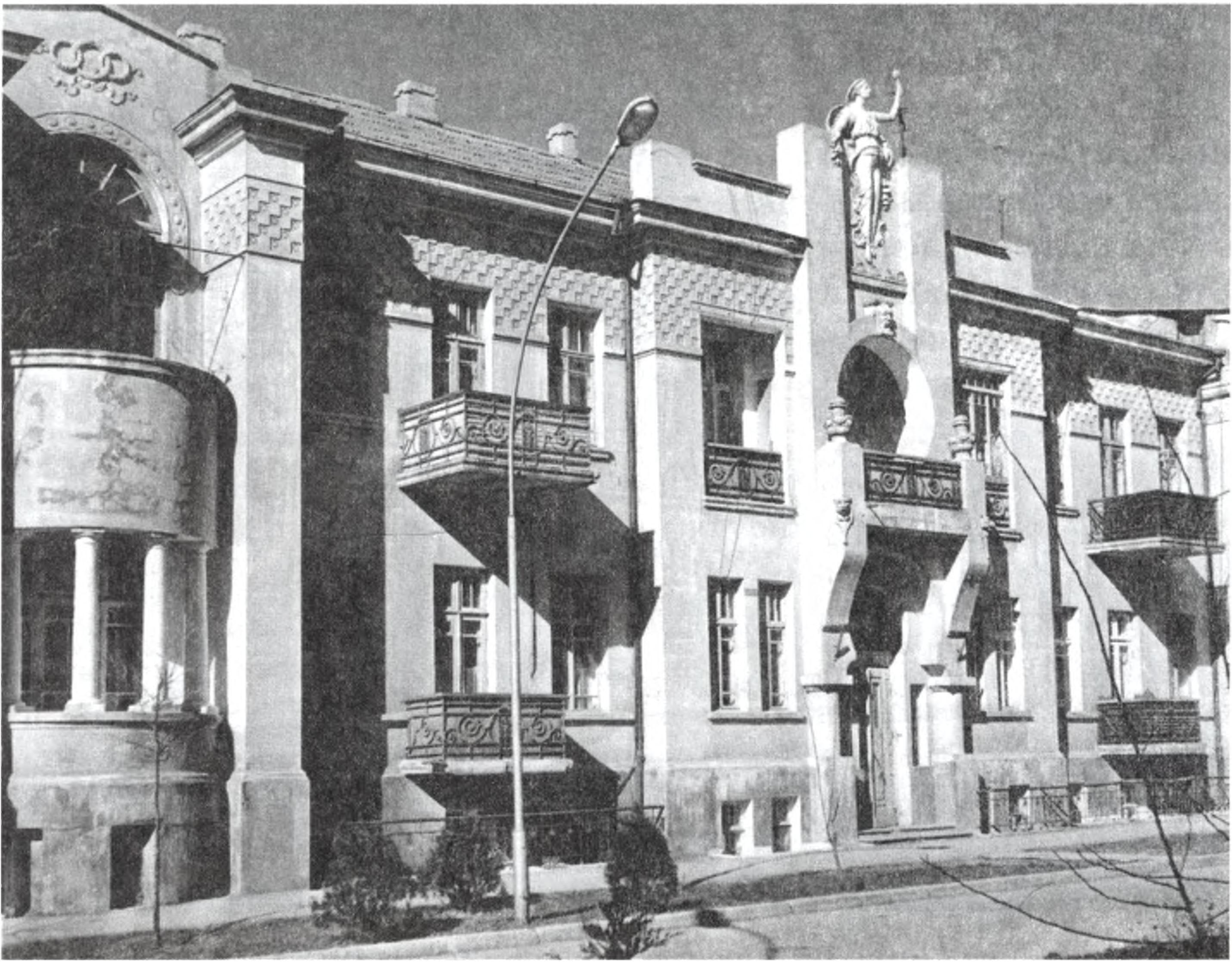 Дом Е.К. Нахшунова. Архитектор А.Л. Генрих. 1912 г.