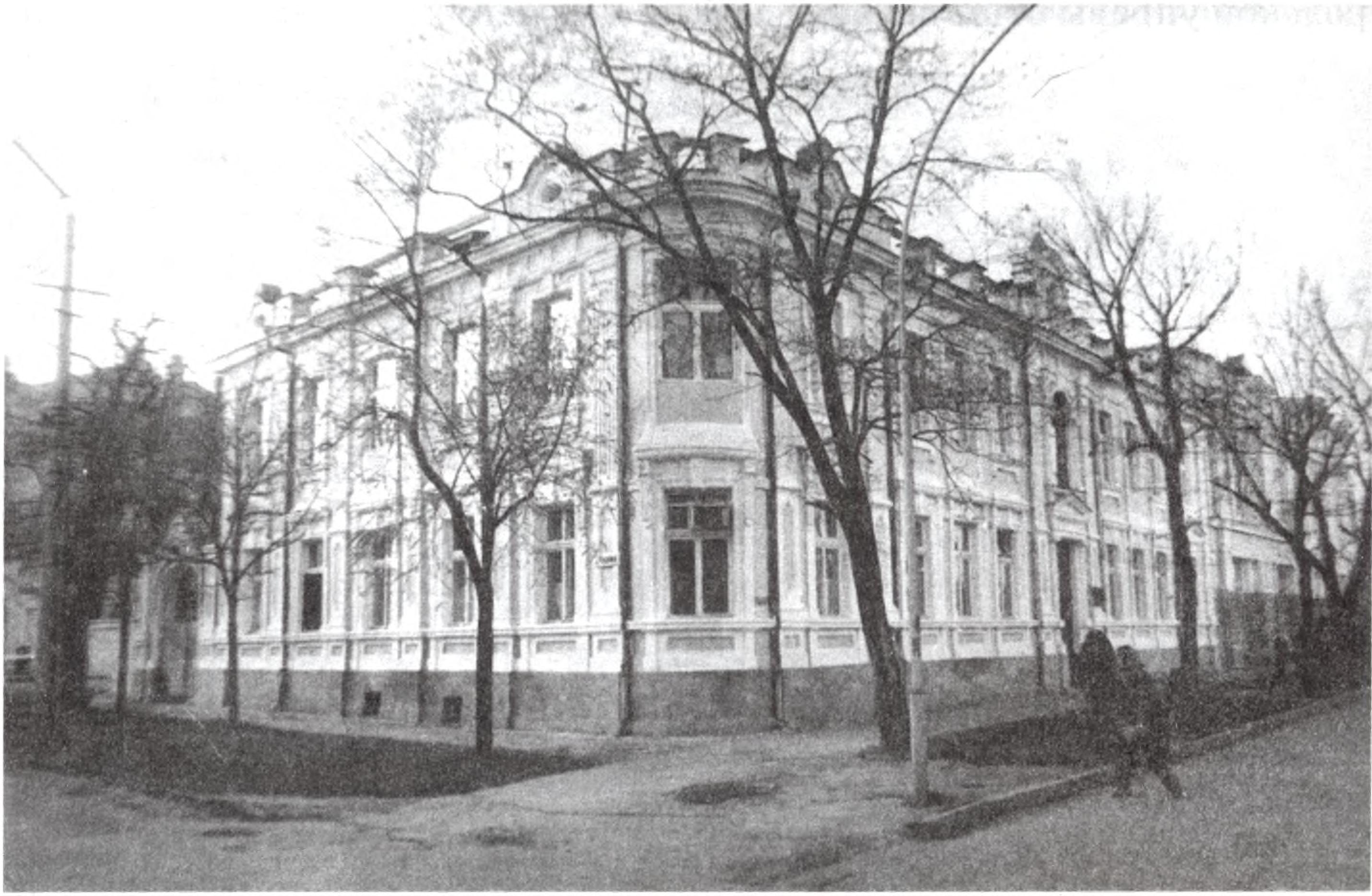 Дом Н.П. Кафаджи. Архитектор А.Л. Генрих. 1908 г.