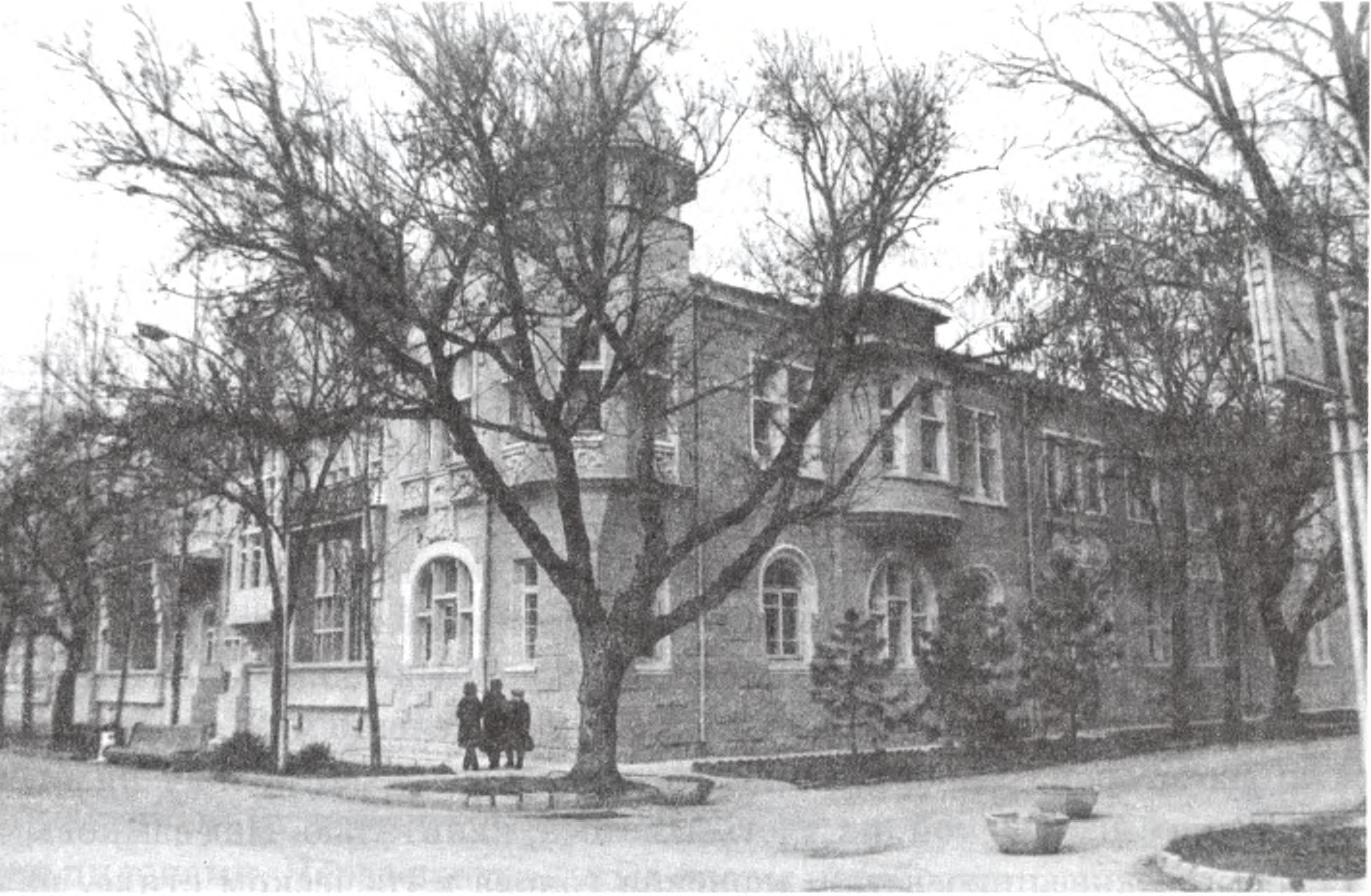 Дача Б.И. Казаса. 1910 г. Угол наб. Горького и ул. Гоголя