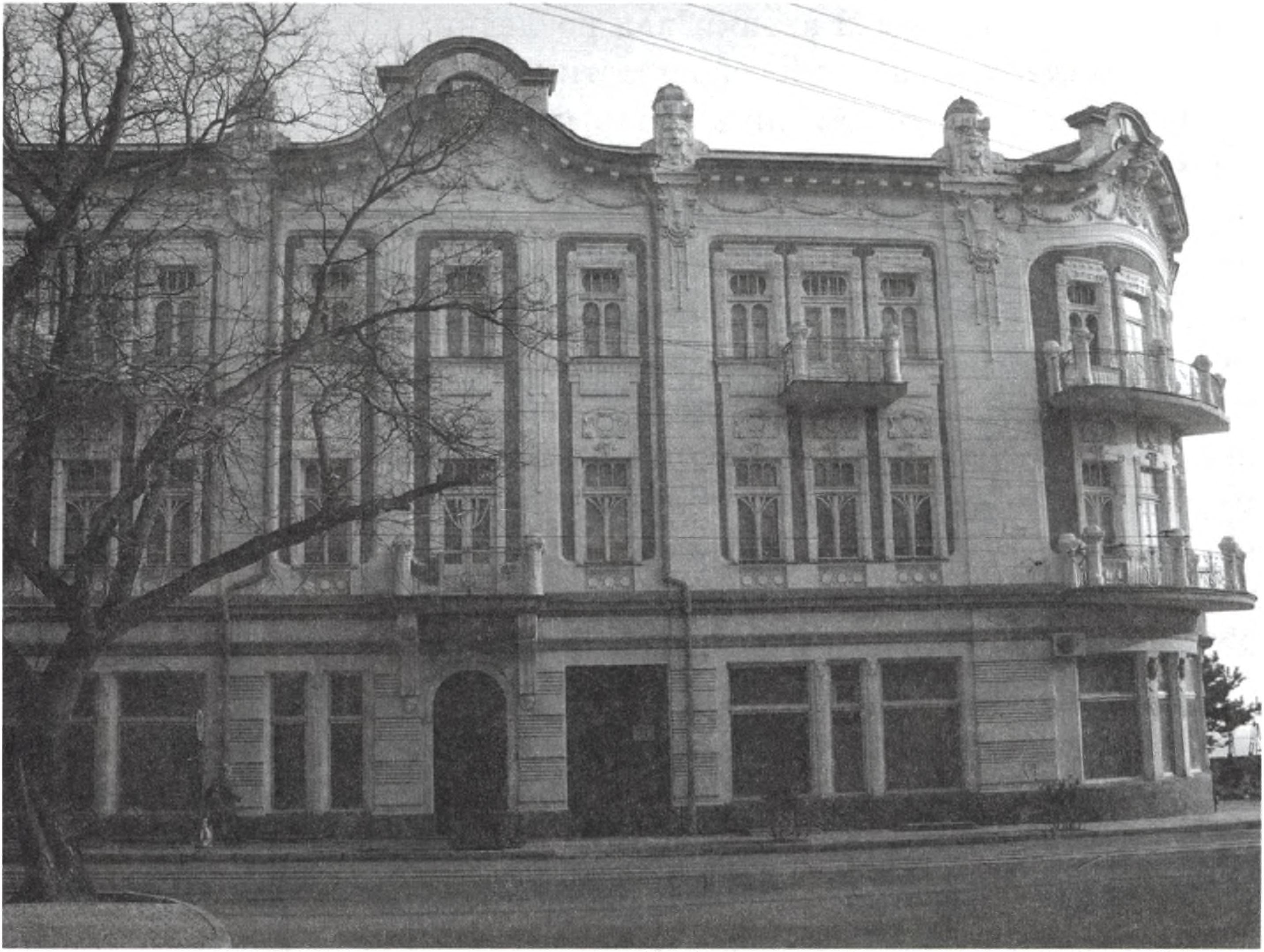 Гостиница «Бо-Риваж» («Beau-Rivage»). 1915—1916 гг. Северный фасад. Фото В.М. Заскоки