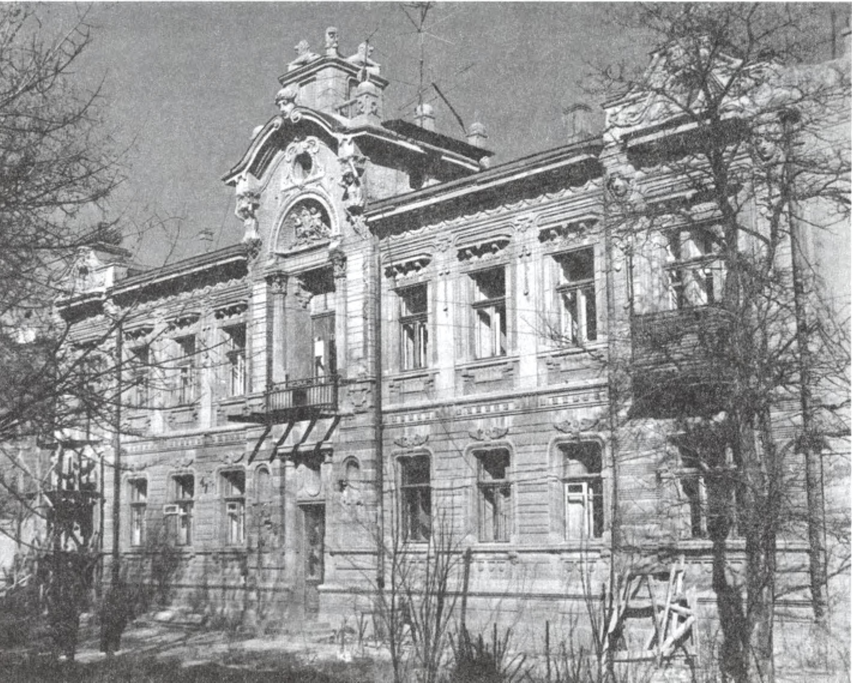 Дом С.М. Шапшала (?). 1910-е гг.