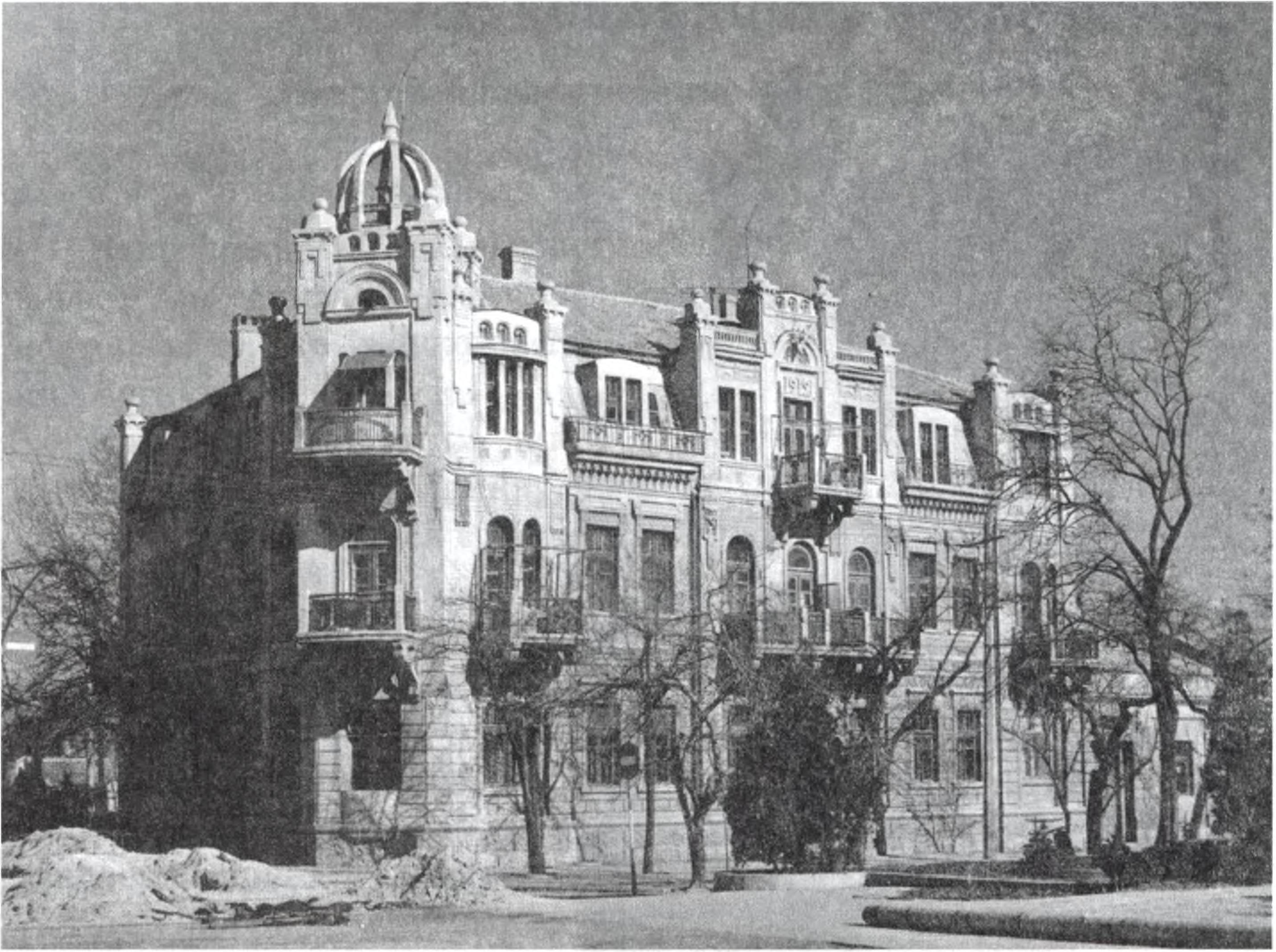 Жилой дом. Архитектор А.Л. Генрих. 1912 г.