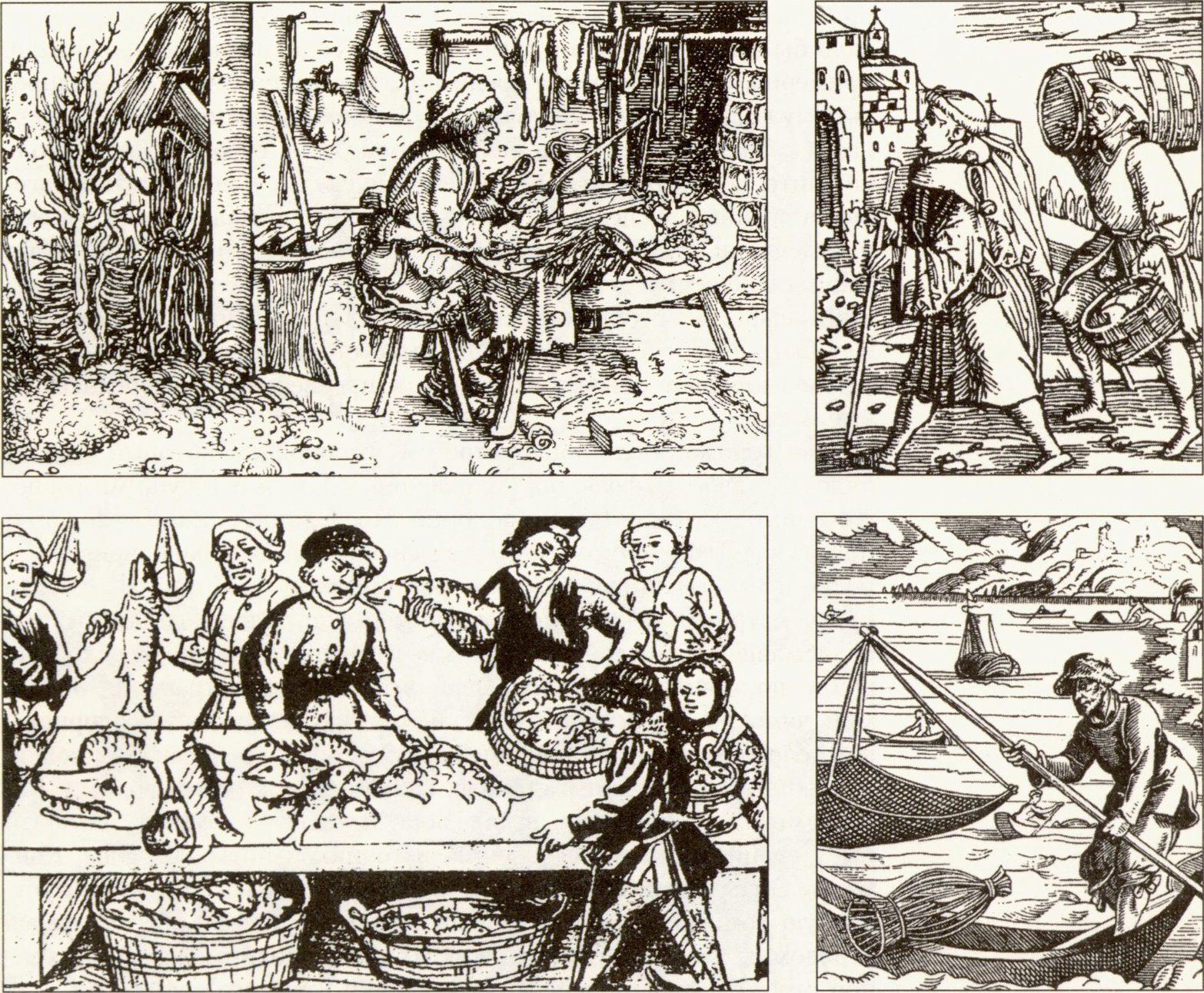 средневековые гравюры: