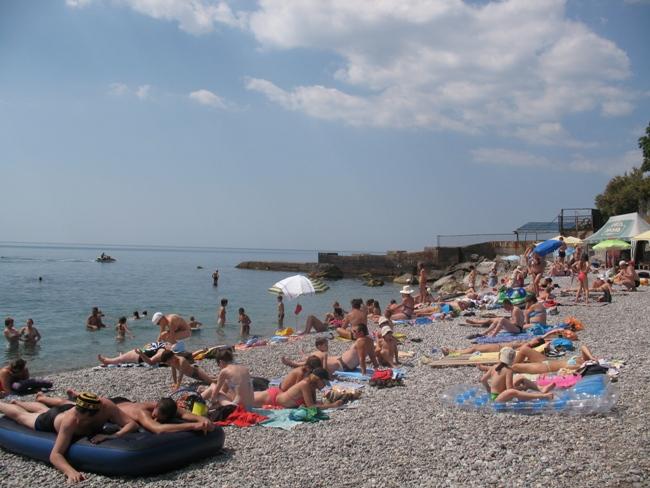Лучшие пляжи Мисхора (Кореиза Крым: фото, отзывы, описания)