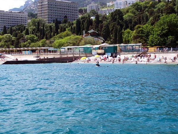 Лучшие пляжи Мисхора (Кореиза Крым: фото, отзывы, описания) 37