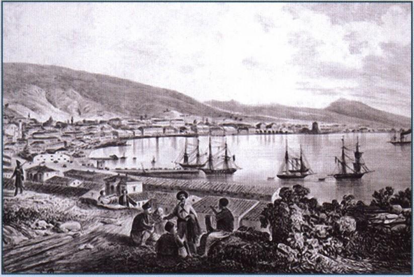 К. Боссоли. Феодосия. 1837 г