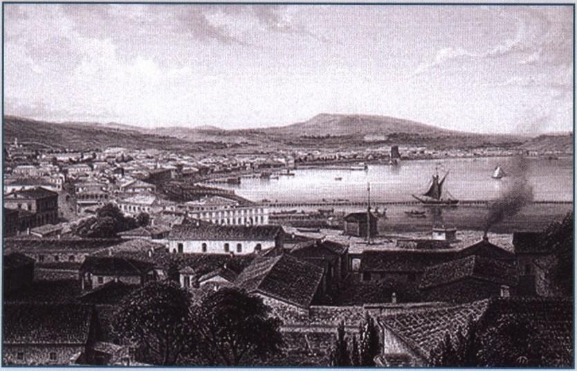 Э. Берндт. Феодосия. 1869 г